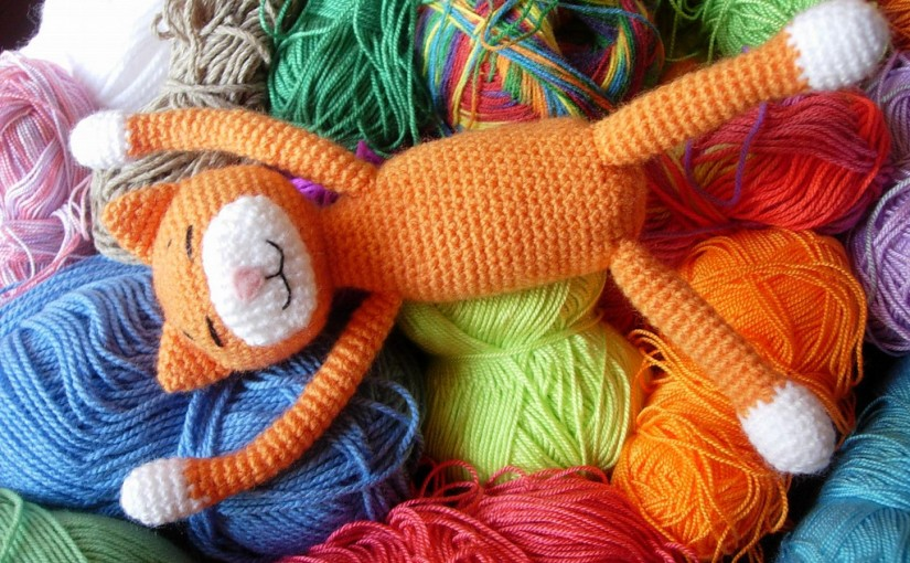 A to Z Challenge: A is for Amigurumi