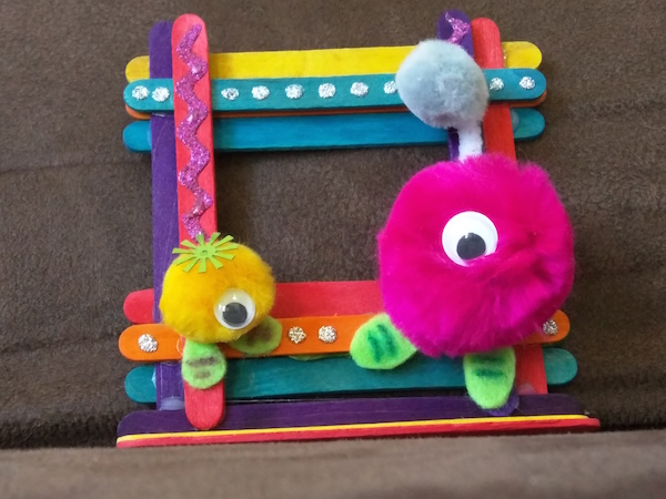 A to Z Challenge: P is for Popsicle Stick Picture Frame Craft – Ink ...