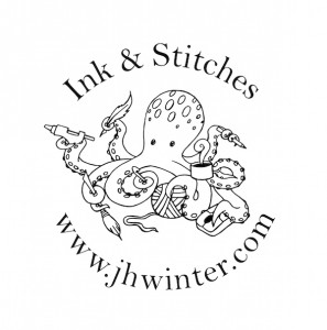 Ink & Stitches Logo - Photo Credit: J.H. Winter