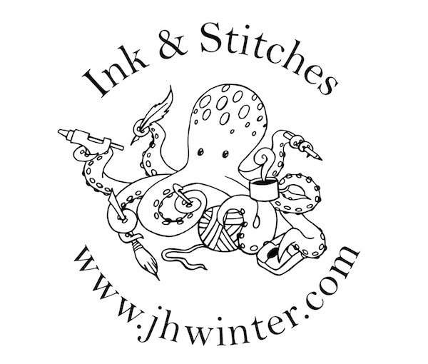 Ink & Stitches YouTube Channel / Logo Reveal