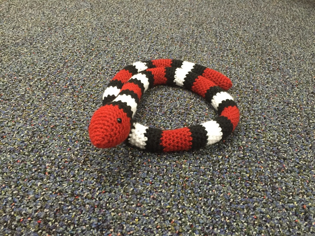 Free Amigurumi Snake Pattern : A to Z Challenge: F is for FREE PATTERN! Amigurumi Snake ...