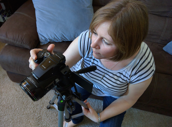 A to Z Challenge: N is for New Camera