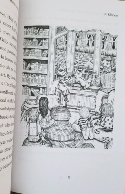 An illustration from Book One of Theodore's Adventure. Photo Credit - J.H. Winter