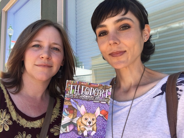 Author and Illustrator Finally Meet!