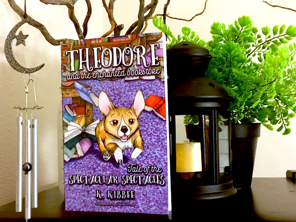 Theodore and the Enchanted Bookstore Book One Has Hit the Shelves!
