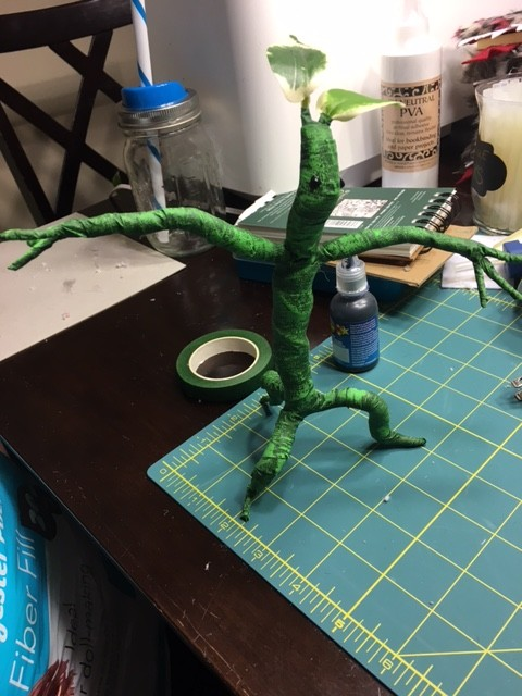 Finished Bowtruckle. Photo Credit: J.H. Winter