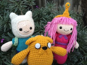 Adventure Time: Finn, Princess Bubblegum, and Jake