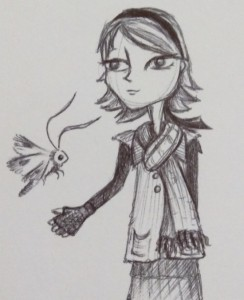 Evie Character Sketch