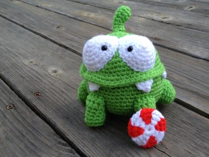 Cut the Rope: Om Nom Plushie