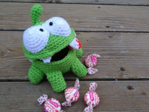 Cut the Rope: Om Nom Candy Dish